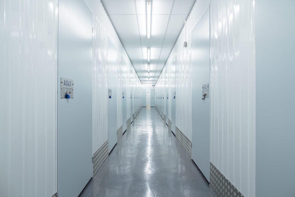 cookes storage service corridor