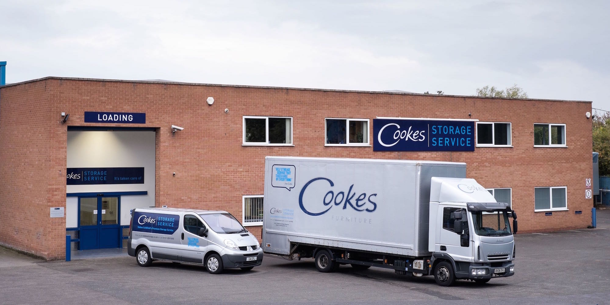 Self Storage Sutton Coldfield Cookes Storage Service
