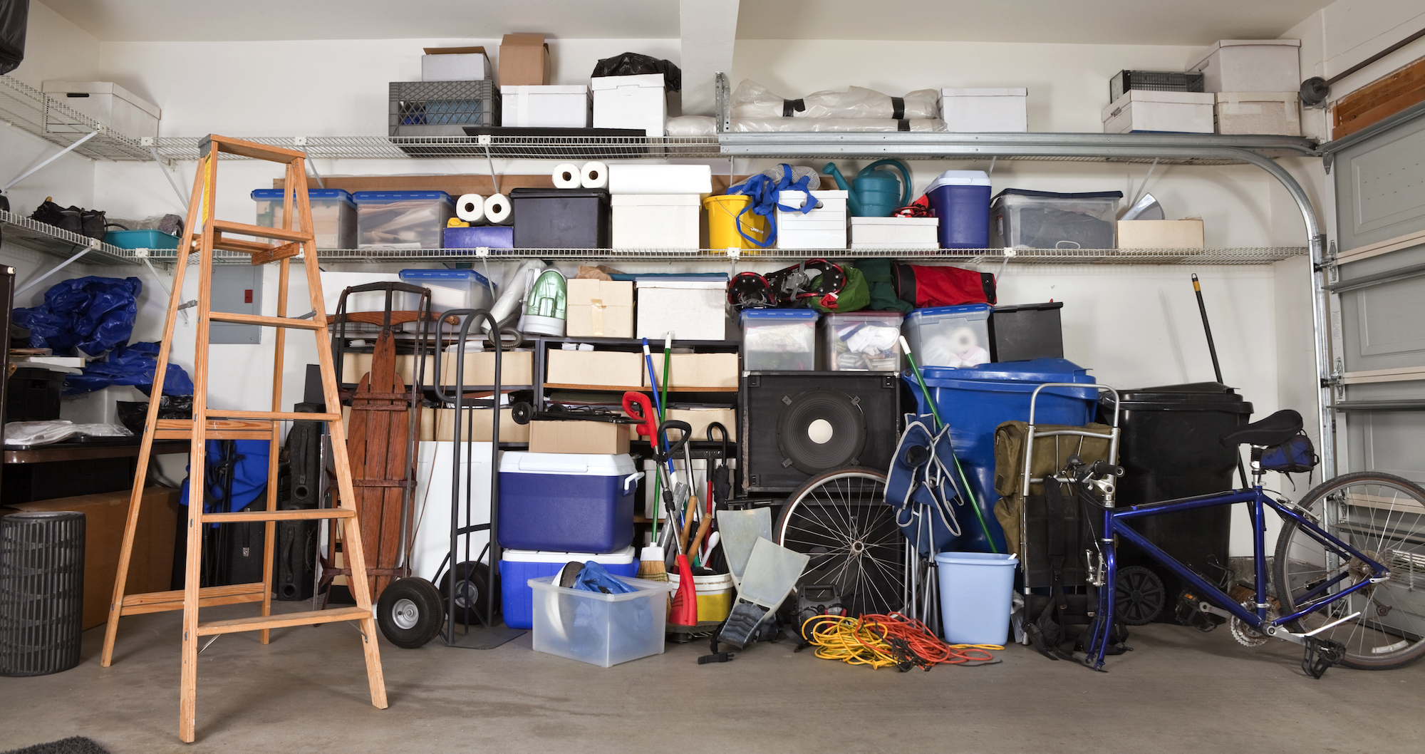 Is clearing out the garage the secret to marital bliss? Cookes Storage Service